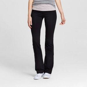 Women's Foldover Waist Bootcut Yoga Pants Mossimo